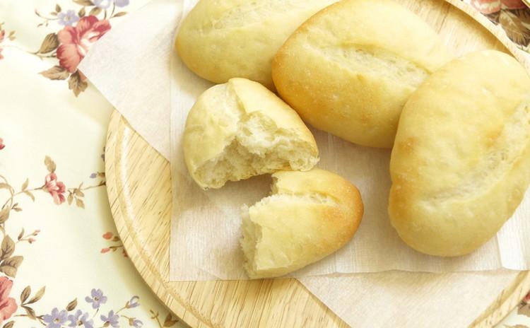 超シンプル捏ねないパン