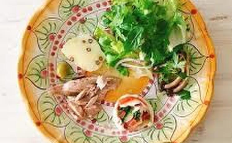 夏にさぱり南イタリア料理