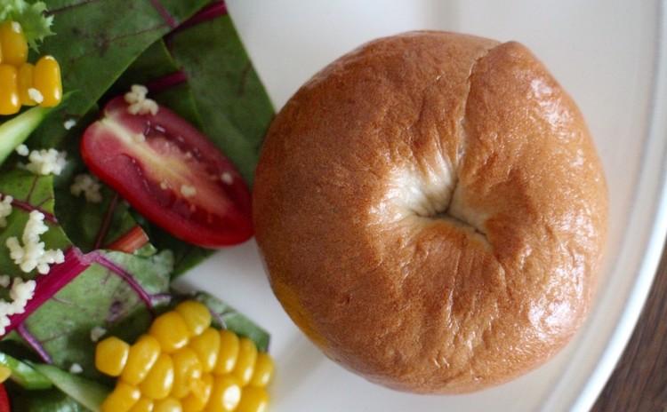 *オレンジピール&クリームチーズのベーグル