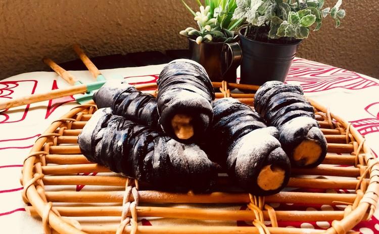【東京開催】ブラックココアのマロンコロネ&葡萄と生ハムのサラダ
