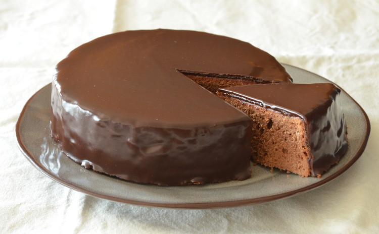 つやつやチョコレートケーキ ザッハトルテ