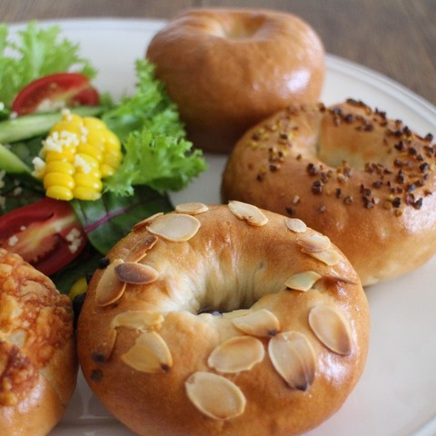 bagel party!!