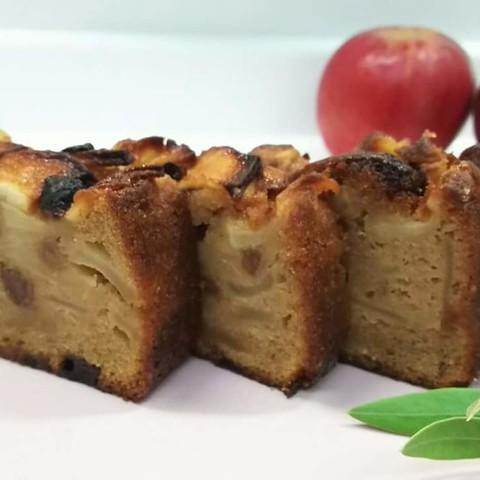 ザクザクりんごのパウンドケーキ