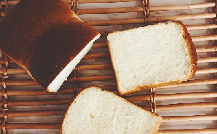 【パン】極めるレッスン食パン➁ モチモチ湯種山型(国産小麦)