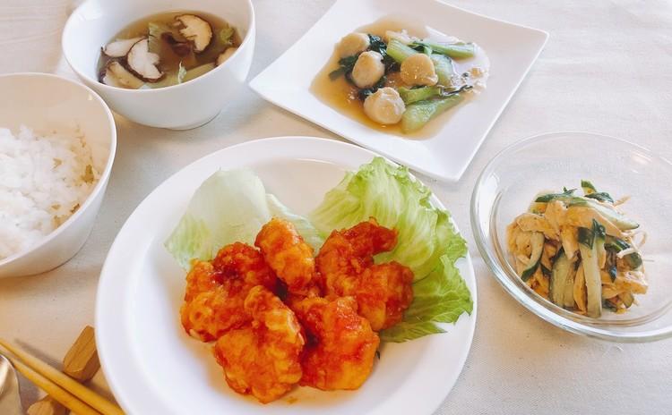おうちで中華のおもてなし♪ エビチリをメインに他4品を作ります♪