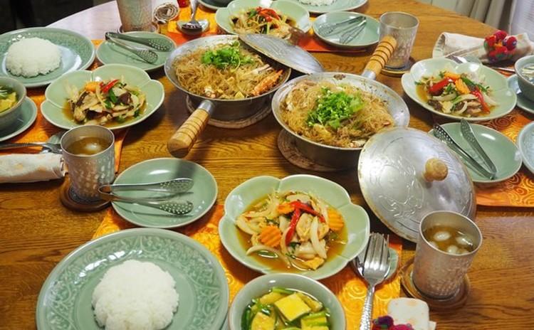 プー・オプ・ウンセン(渡り蟹と春雨のあっさり蒸し)は、じんわり優しい美味しさです!海老でも同様に作れるから、是非レパートリーに加えてください。