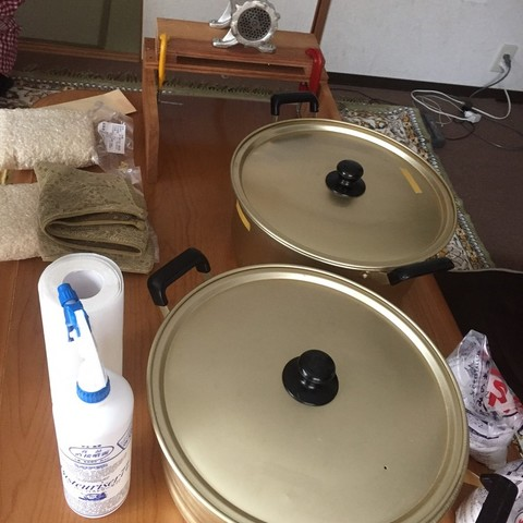 材料3種で味噌づくりを