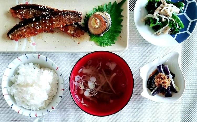 秋刀魚の三枚おろしと秋の常備菜