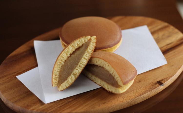 10月/秋の和菓子♬ 「栗餡どら焼き」と「かぼちゃの薯蕷饅頭」