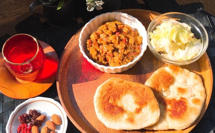 【仙台開催】フライパンで簡単てごねナン♪と美・薬膳カレー