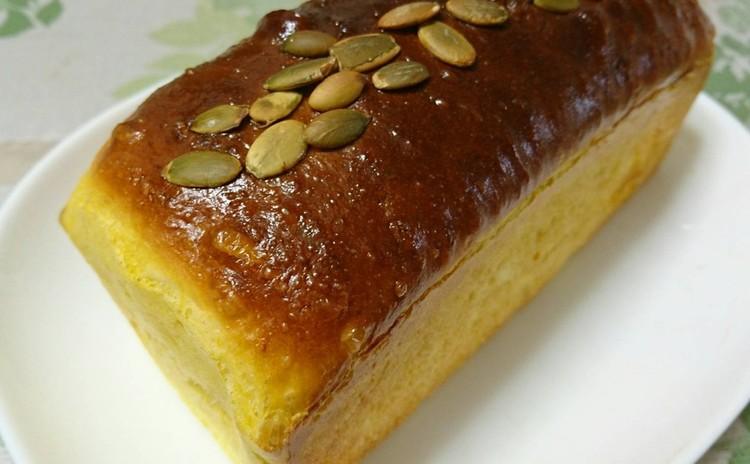 カボチャ食パン