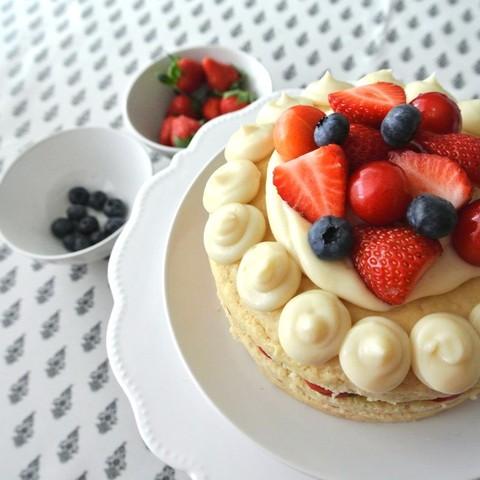 ナチュラルスイーツで作るオリジナルケーキ