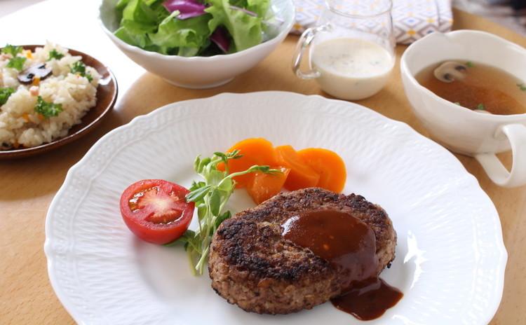 嫁活【ヨメカツ】 料理教室♪洋食の基本「ハンバーグ」