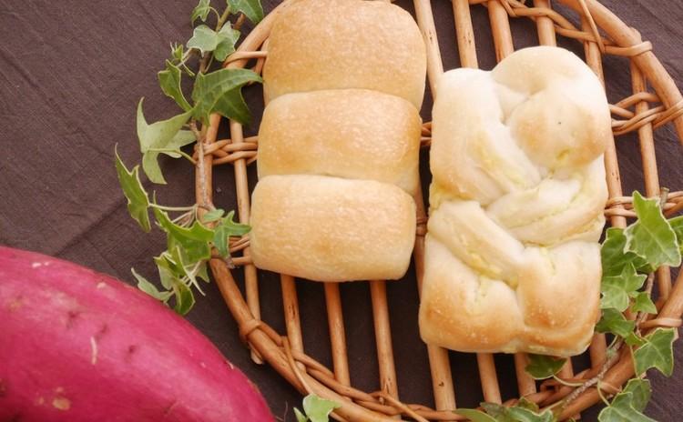 ★自家製酵母:酒粕酵母:ハロウィンメニュー★ミニ山食&ミニ芋ブレッド