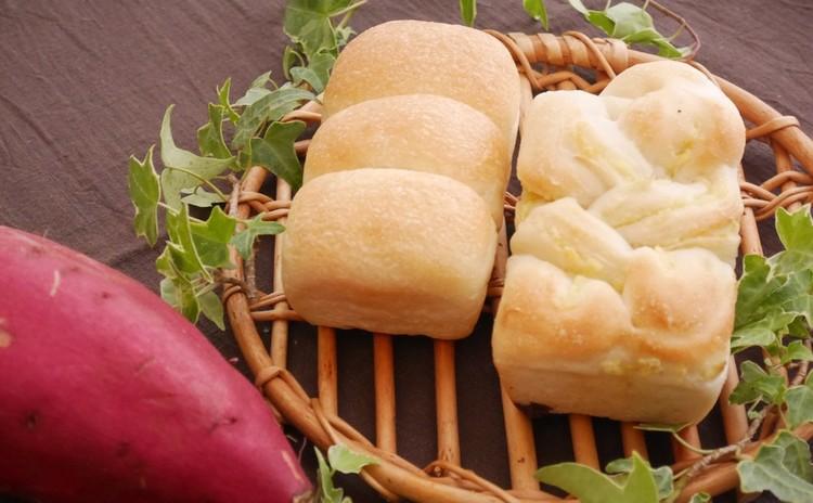 ミニ山食&ミニ芋ブレッド