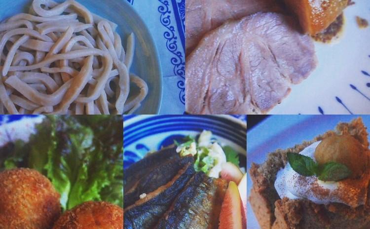 ☆武蔵野うどん第二弾&手作り粒マスタードで秋を味わう☆