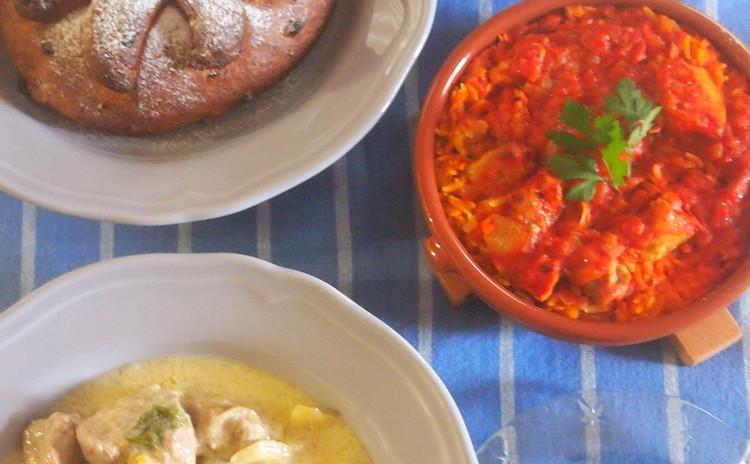 ◆花と料理の饗宴 クリスマスを彩るアロマワックスバー作り◆  ☆ギリシャ料理で地中海式クリスマスのおもてなし料理☆