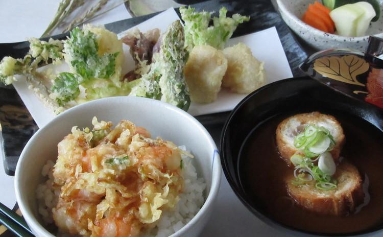 基本の天麩羅 食材の仕込みからかき揚げ天丼まで