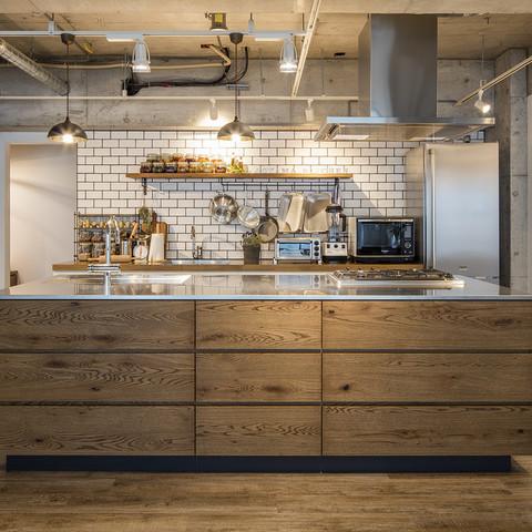おしゃれで開放的なキッチンスタジオです