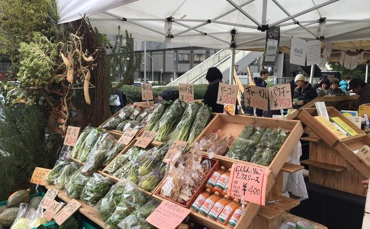 青山*ファーマーズマーケット&ランチツアー