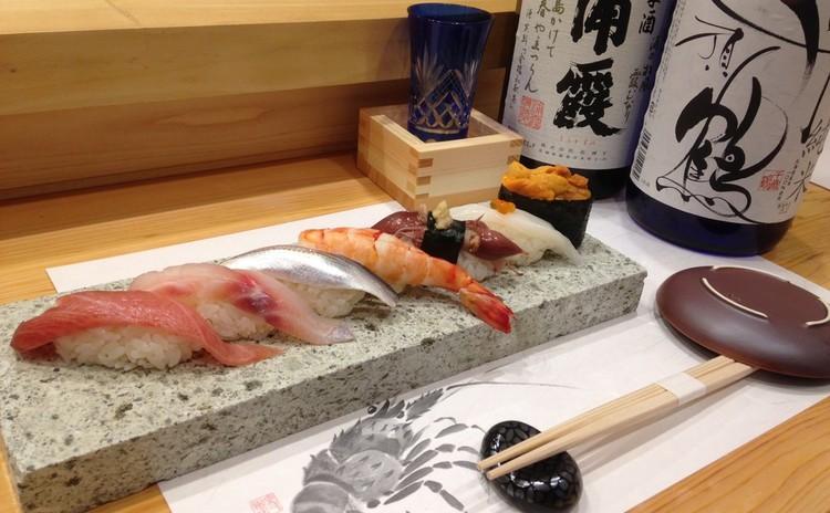 気軽に味わう季節の寿司20貫と日本酒を楽しむ会