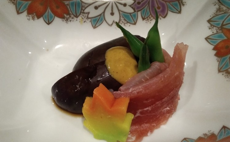 秋刀魚オレンジごはん