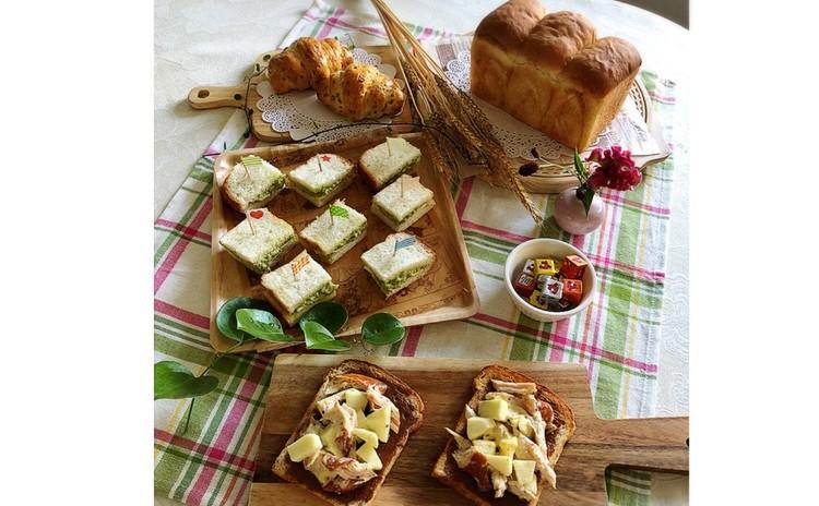 基本の山食パン&ロールパン・美味しいパンの食べ方・アレンジも。