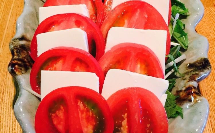 ガンジャンゲジャン간장게장 トマト豆腐サラダ、生海苔(お土産ゲジャンあり)リクエスト