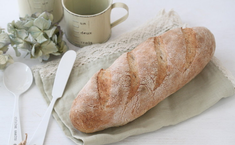 こねないで作る!ラクまぜパン<体験レッスン>こんなに簡単に作れるなんて!