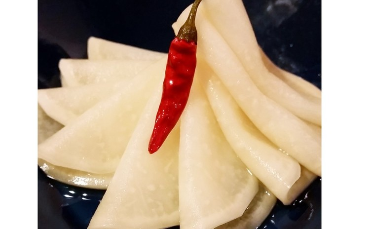 【砂糖不使用おうち和食】ぶり大根、かぶの千枚漬け、しらすとピーマンの山椒風味おばんざい