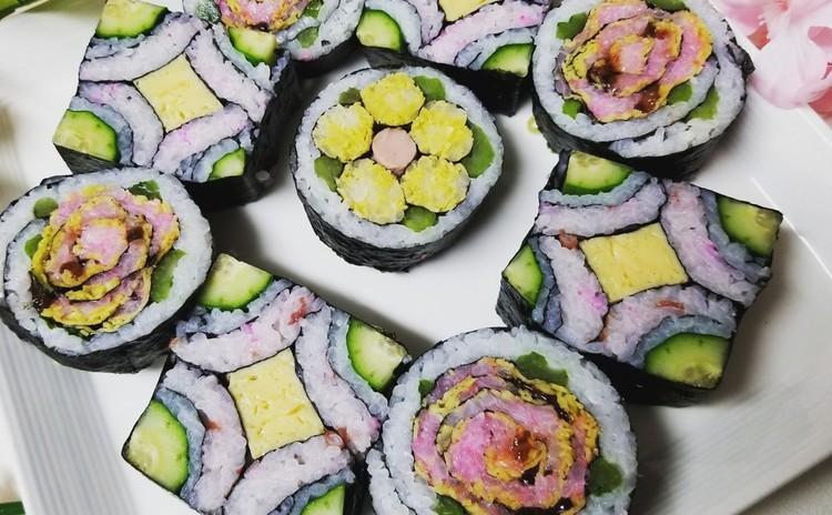 スクウェア巻き寿司