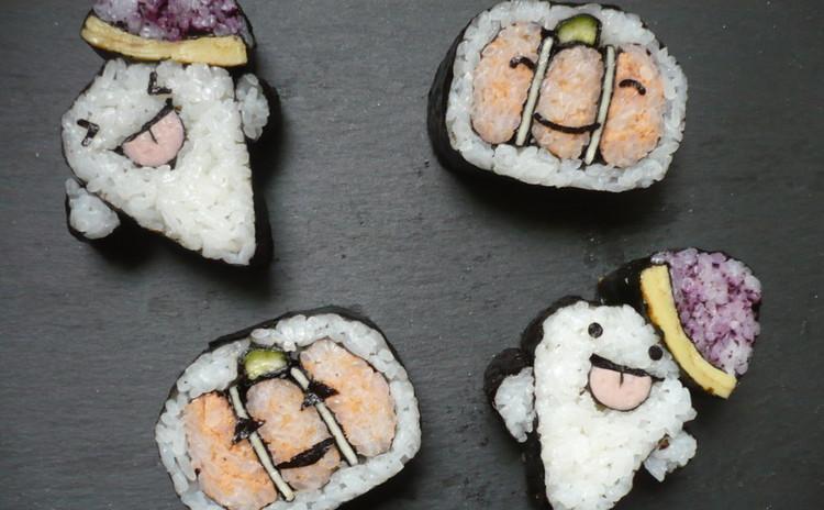 【婚活・嫁活】ハロウィンはデコ巻き寿司でおもてなし! (米粉おやつ付き)