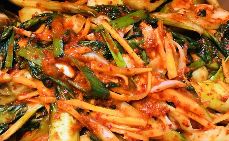 チンゲン菜キムチ청경채김치