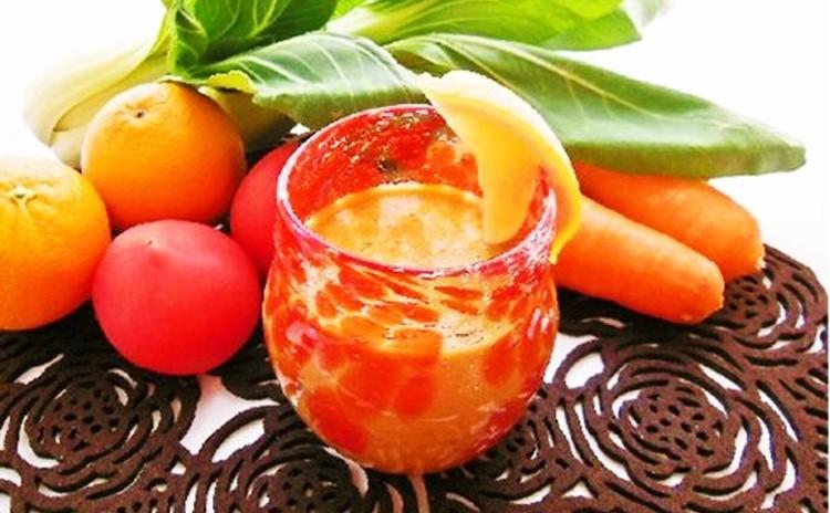 ビタミンたっぷりフルーツスープ