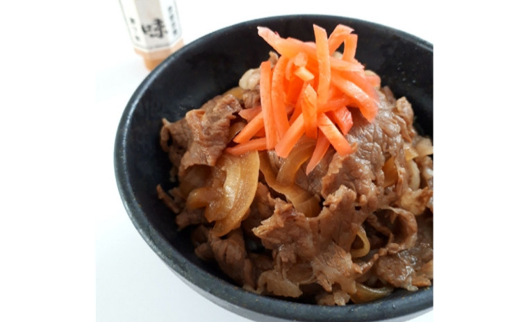 【砂糖不使用★おうち和食】絶品牛丼、だし巻き玉子