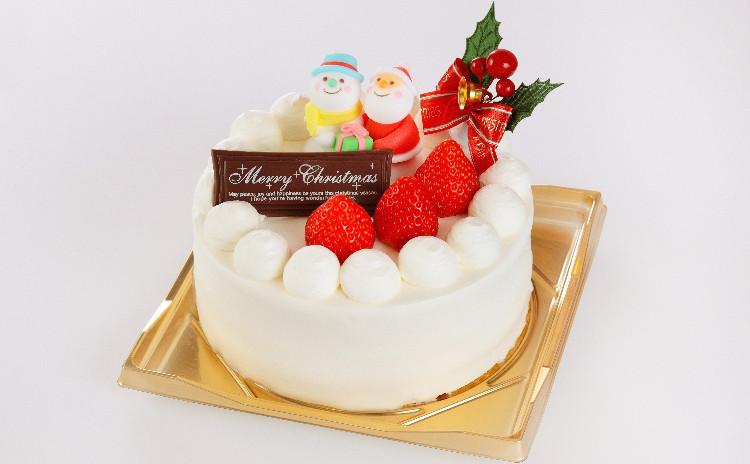 クリスマスケーキを手作りしましょう!
