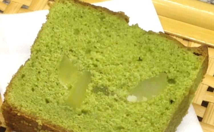 「柚子香るお稲荷さん」と「抹茶のパウンドケーキ」