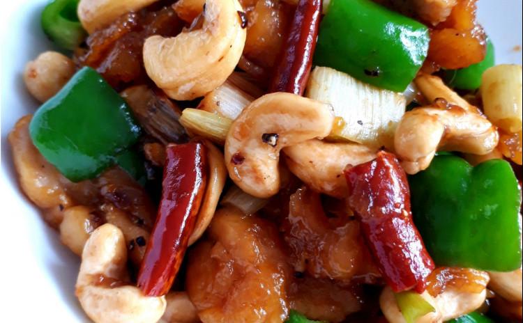 【砂糖不使用ヘルシー中華】四川麻婆豆腐、鶏肉とカシューナッツの炒め物