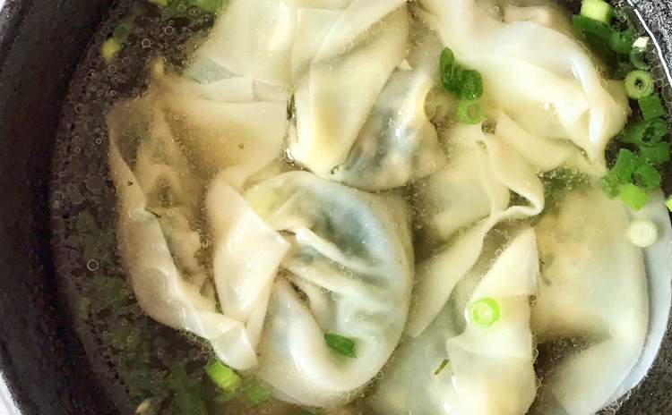 上海名物【焼き小籠包】【葱油餅】【上海菜雲呑】