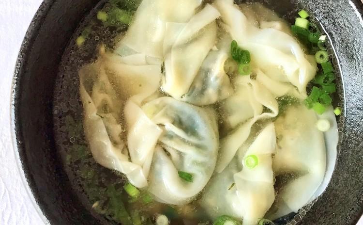 上海菜雲呑(上海風ワンタンスープ)