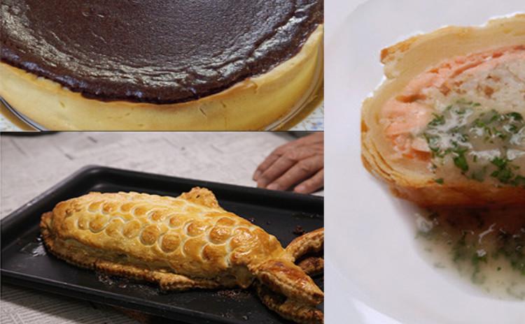 冬に食べたいパイメニュー!鮭のパイ包み焼き