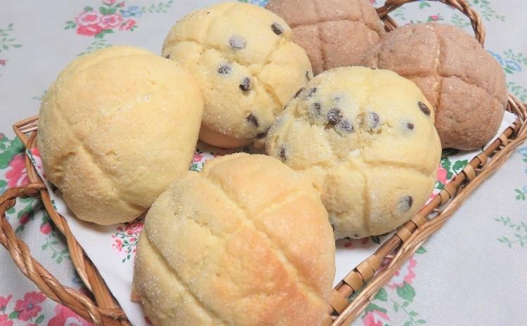 ランチ&お土産付☆白神こだま酵母で作る「3種のメロンパン」