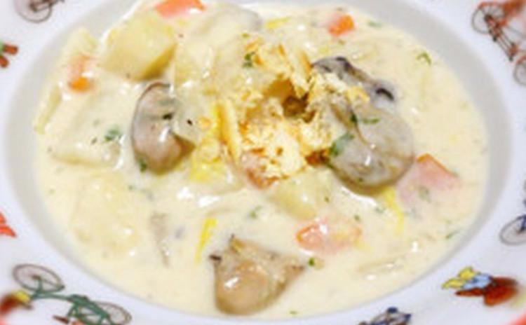 おさらいレッスン まぐろとアボカドのタルタル 牡蠣と白菜のクラムチャウダー パリッとジューシーチキン サツマイモのプリン