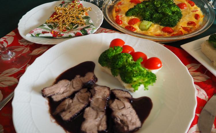 【料理教室:実習あり】見た目が豪華なクリスマス♪時短でキッシュ・豚肉赤ワイン煮・マッシュポテト