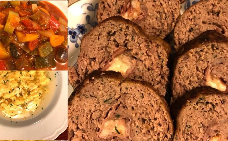 カポナータ☆ポルペットーネ☆ローマ風卵とチーズのスープ