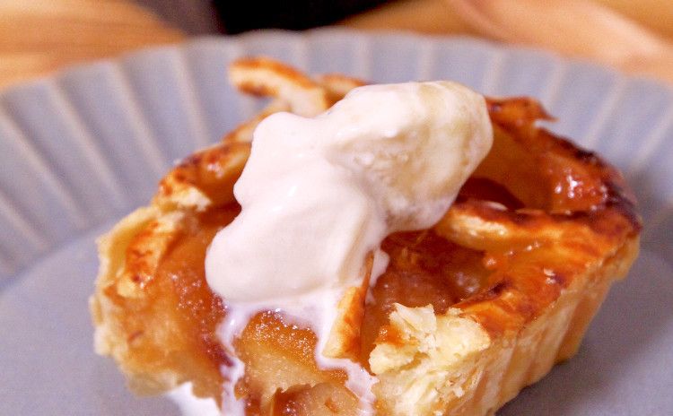 りんご煮から2品! タルトタタン/アップルパイ! りんご大好き集まれ〜♪ その他2品