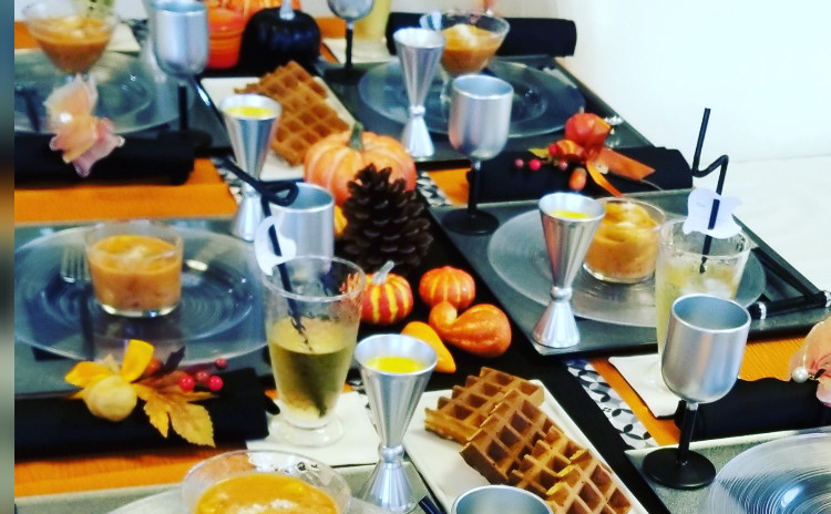 bonnecuisine半年記念☆30分で5品特別編 ハロウィンパーティーをしましょうレッスン【シークレットお土産つき】