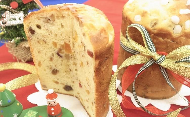 【Xmasパン】パネトーネ・カナッペ3種・クリスマスリースサラダ