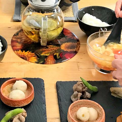 中華スープと前菜