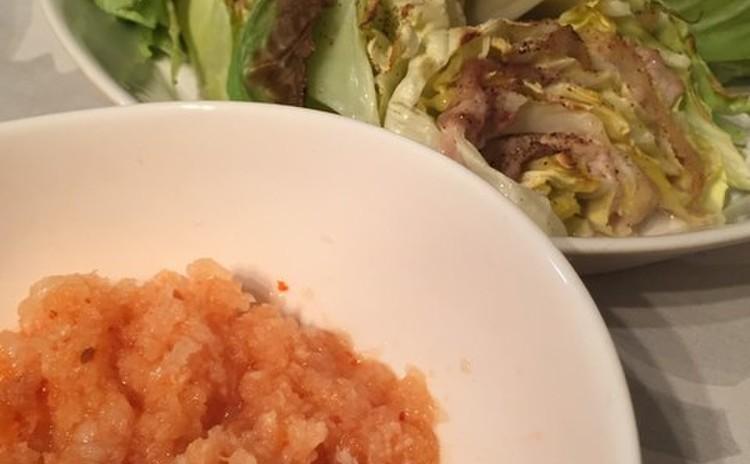 キャベツと豚肉のオーブン焼き